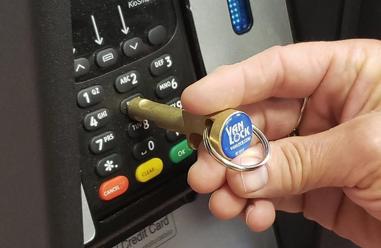 No-Touch Key